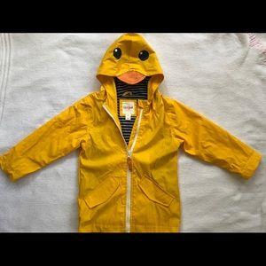Cat & Jack Yellow Duck Raincoat Size 2T